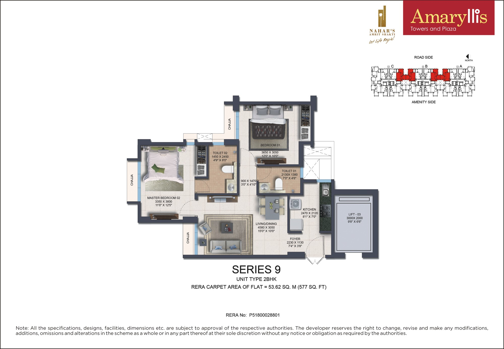 Two BHK - Series 9